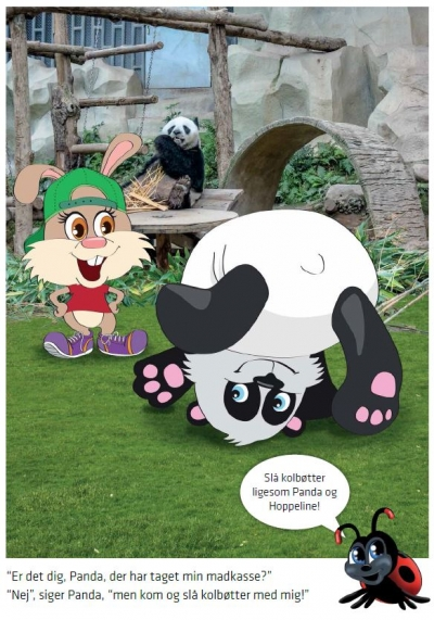 Hoppeline og Panda