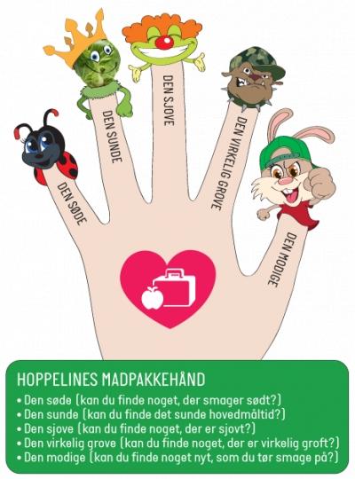Smør madpakken med Hoppeline
