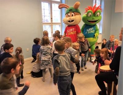 På besøg i Børnehaven Fristedet, Børnehuset ved Åen og Børnehuset Udsigten
