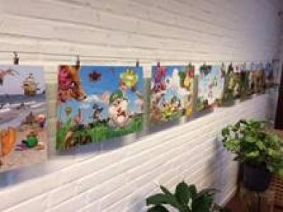 Illustrationer i børnehøjde
