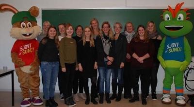 Fremtidens professionsudøvere i Projekt Hoppeline